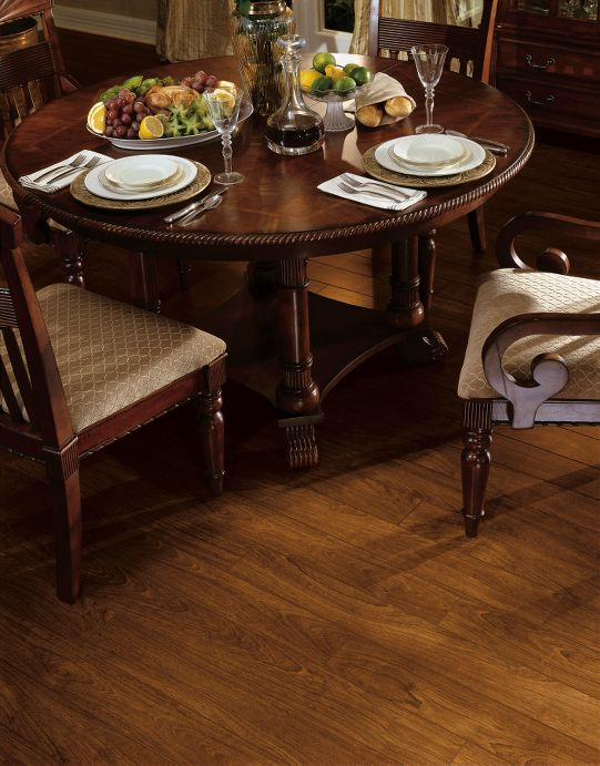 Laminate Flooring: Brazilian Cherry Natural